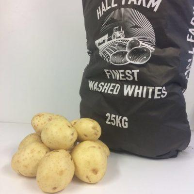 25kg White
